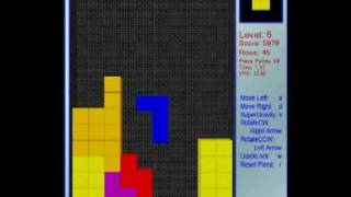 Free Falling Blocks AKA Physics Based Tetris-like Game