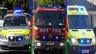 Best of 2015: Emergency Vehicle Compilation Video