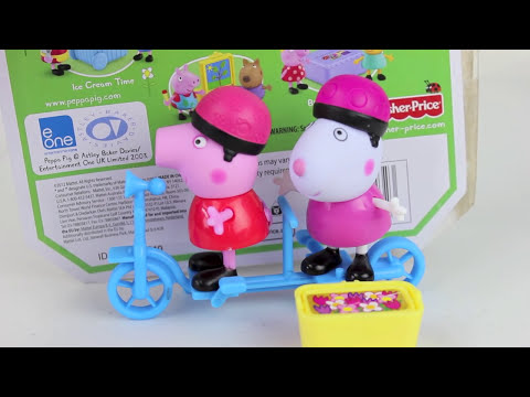 Peppa Pig PlaySet Bicycling Together -Juegos de Peppa Pig| Mundo de Juguetes