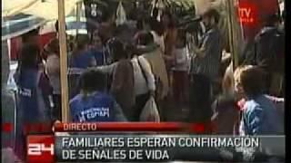 Thumb Los 33 mineros de Mina San José están vivos, mandaron mensaje en papel