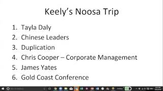 Getting Started & Noosa Update