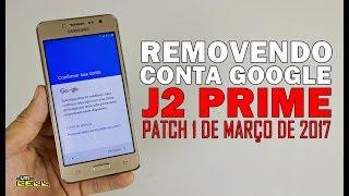 Como resetar remover conta Google do Samsung Galaxy J2 Prime (SM-G532G) #UTICell