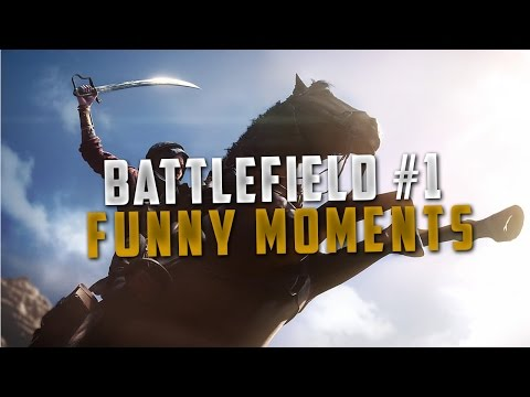 BATTLEFIELD 1 : Funny Moments, Trickshot, Crash Aérien, Sniper Kills !