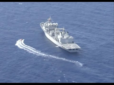 Chinese, Russian Navies Conduct Joint Marine Safety Drill in Mediterranean