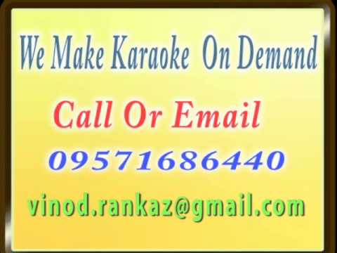 O Hansini Kahan Udd   Karaoke   Zehreela Insaan