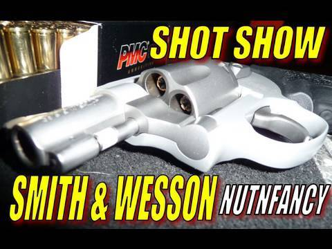 Nutnfancy SHOT Show: Smith and Wesson!
