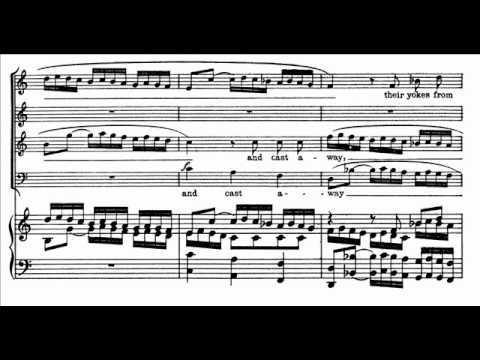 "Handel - Messiah - Coro ""Let us break"" (n. 41) (score)"