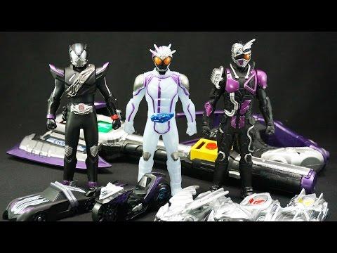 仮面ライダー ドライブ ライダーヒーローシリーズ09 仮面ライダーチェイサー Kamen Rider Drive Sofubi Kamen Rider Chaser video