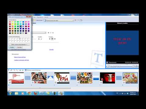 Movie Maker - Tutorial completo (español)