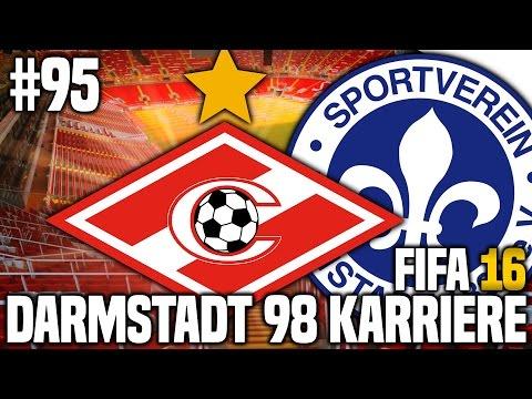 FIFA 16 KARRIEREMODUS #95 - SPARTAK MOSKAU! EUROPAPOKAL! | FIFA 16 KARRIERE SV DARMSTADT 98 [S3EP13]