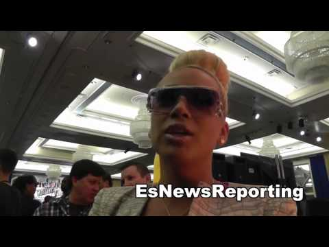 the beautiful 'bad medina' of tmt talks mayweather vs maidana EsNews Boxing
