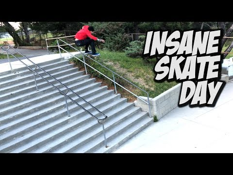 INSANE SKATE DAY WITH ANDREAS, IVAN & MORE !!! - NKA VIDS -