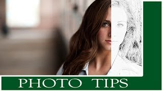 Photoshop Tutorial: Turn a Photo into a sketch