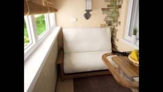Установив на лоджии диванчик и столик, можно получить отличн.