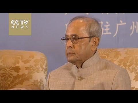 Indian President Mukherjee arrives in Beijing on 2nd leg of trip