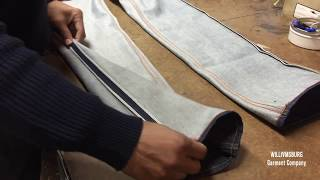 How to Taper Jeans Professionally