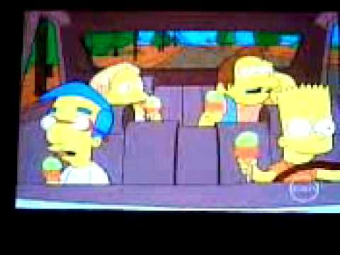 The Simpsons - Bart can we stop for Ice Cream?