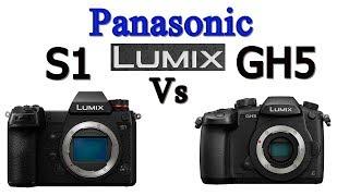 Panasonic Lumix S1 vs GH5 Mirrorless Camera Comparison !
