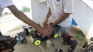 RC Nitro Buggies - Starting up a buggy