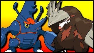 Mega Heracross & SD Excadrill [Pokémon Ultra Sun & Ultra Moon]