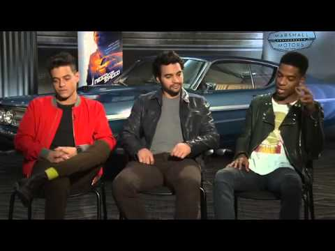 ▶ Kid Cudi, Ramon Rodriguez & Rami Malek Interview   Need for Speed   YouTube 360p