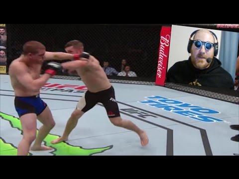 Stevie Ray Defeats Joe Lauzon Via Decision: UFC Fight Night 108 #UFCNashville