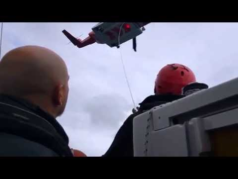 Helicopter Highline Training - Irish Coast Guard and SailCork