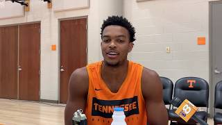 Tennessee Basketball Media Day -- Josiah-Jordan James