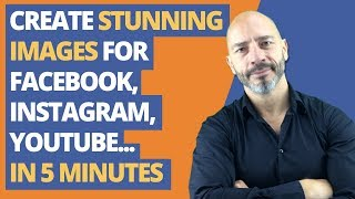 Create FREE stunning images for Facebook, Instagram, YouTube and more in under 5 minutes!