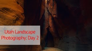 Large Format Landscape Photography in Utah: Day 2