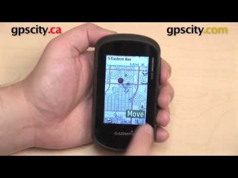 Marking and Editing Waypoints on the Garmin Oregon 600 Series with GPS City