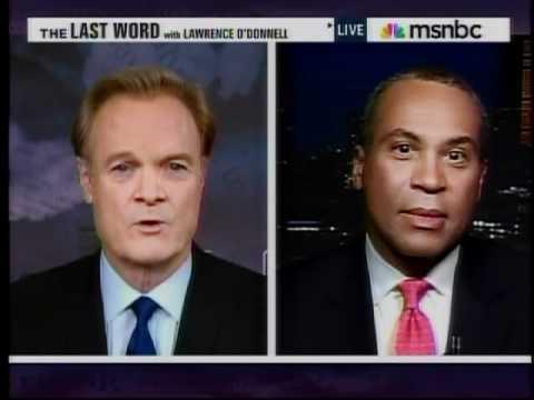 Governor Deval Patrick On Mitt Romney