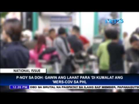 President Aquino asks DOH to prevent spread of MERS-CoV