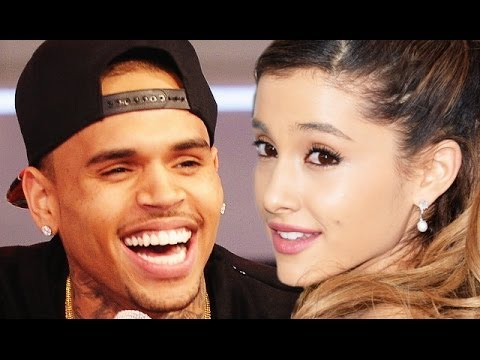 Chris Brown & Ariana Grande Get Sexy In New Video