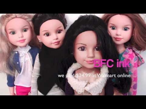 Doll Review :  Our Large Doll Collection