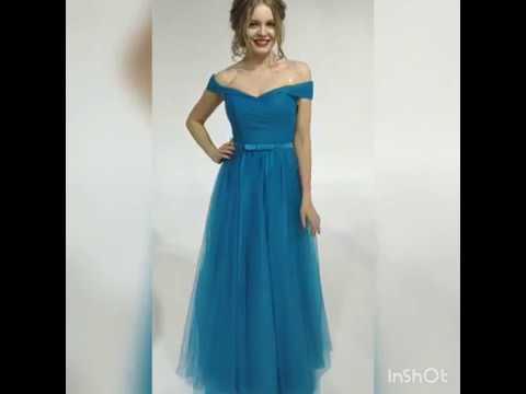 Вечернее платье 40-40 Платье на выпускной 2019