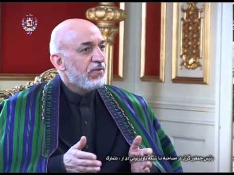 President Karzai's interview with Danish Television DR (Pashto Translation) -- May 02, 2013