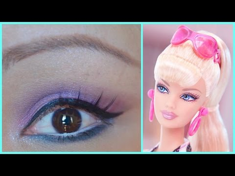 Barbie Makeup Tutorial Barbie Makeup Tutorial Pink