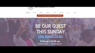 End Time Apostolic Church - Live Stream