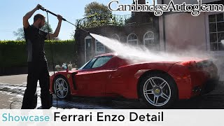 Ferrari Enzo - Full Correction Detail by Cambridge Autogleam