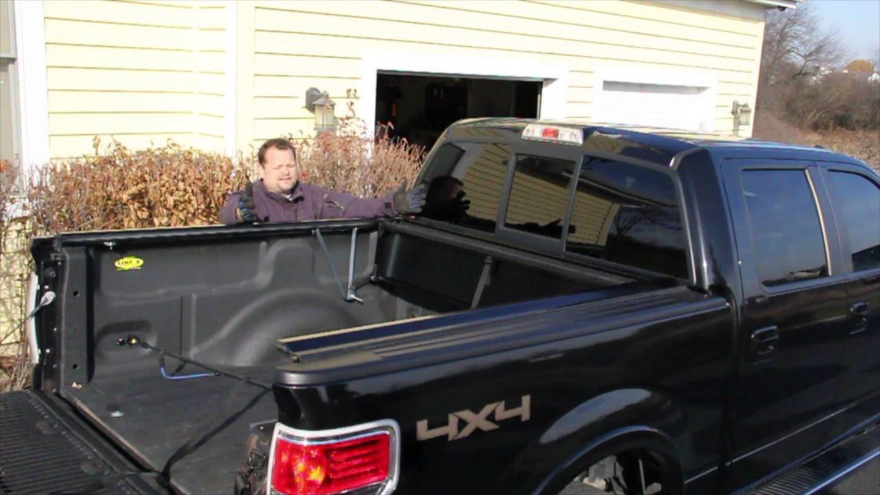 Metal folding bed - Peragon Retractable Aluminum Truck Bed Cover Review