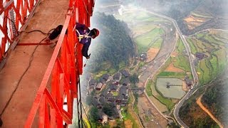 The Highest Bridge In The World / Aizhai Bridge / China