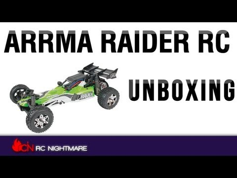 Arrma Raider RC Buggy Unboxing & First Review