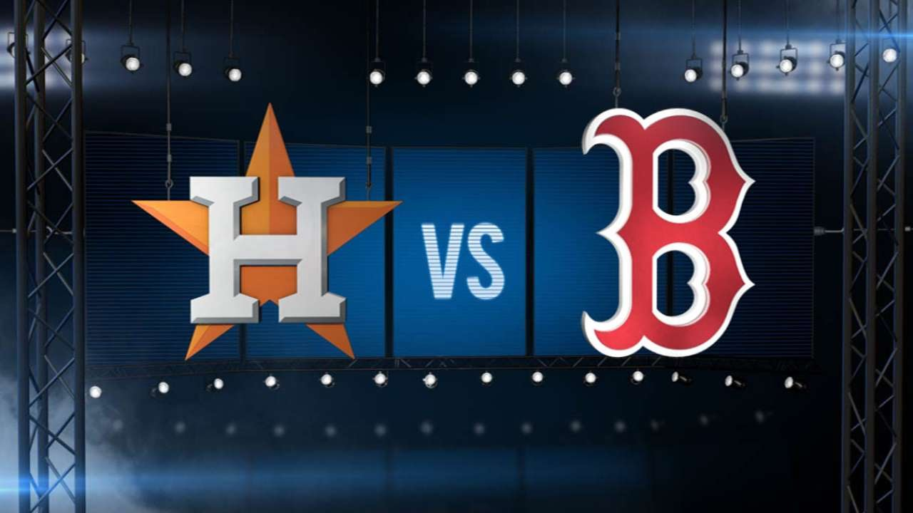 7/4/15: Buchholz strong in Red Sox win over Astros