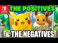 Pokémon Let's GO Pikachu & Eevee and their Positives & Negatives!