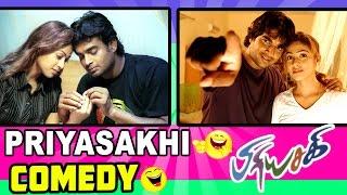 Priyasakhi Tamil Movie Comedy Scenes   Madhavan   Sadha   Ramesh Khanna   Manobala   Kovai Sarala