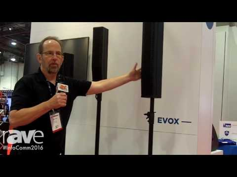 InfoComm 2016: RCF USA Launches EVOX Portable PA Systems