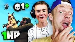 DE LAATSTE KILL MET 1HP OVER!! - Fortnite #87