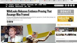 FBI Sends Planeload of Corrupt FBI Agents To Try & Frame Julian Assange