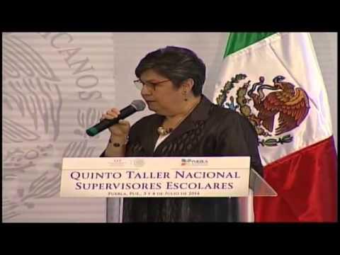 Quinto Taller Nacional con Supervisores Escolares
